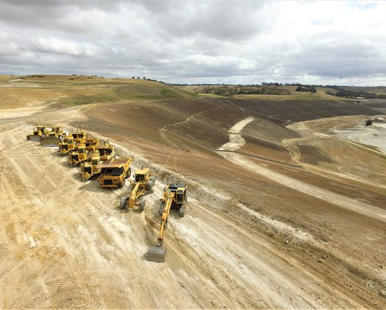 Geelong Batesford Quarry Rehabilitation – Stages 1, 2 & 3